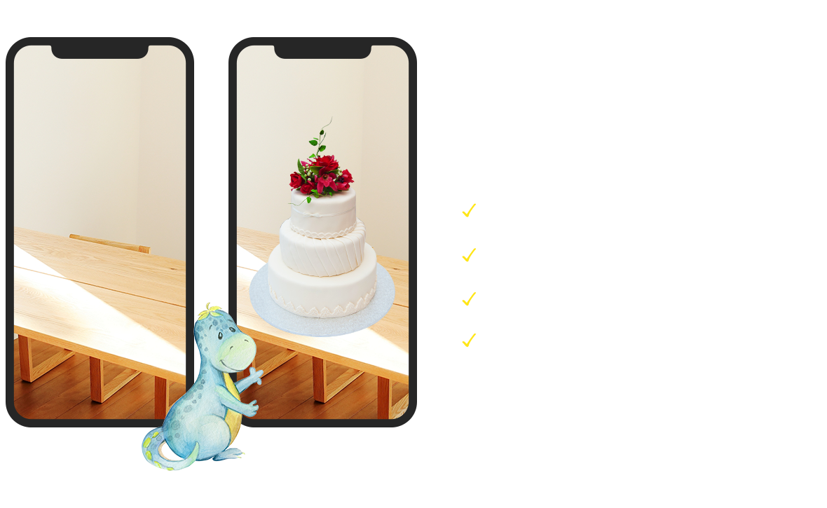 GRARで!ARで新商品をPRしませんか?アプリ不要!WEBでそのままARが見れる!